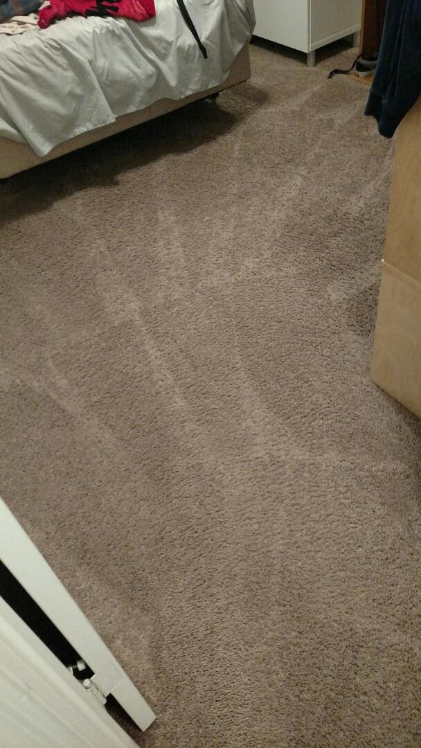 Gilbert, AZ - Cleaned carpet for a new PANDA family in Spectrum Estates, Gilbert, AZ 85297.