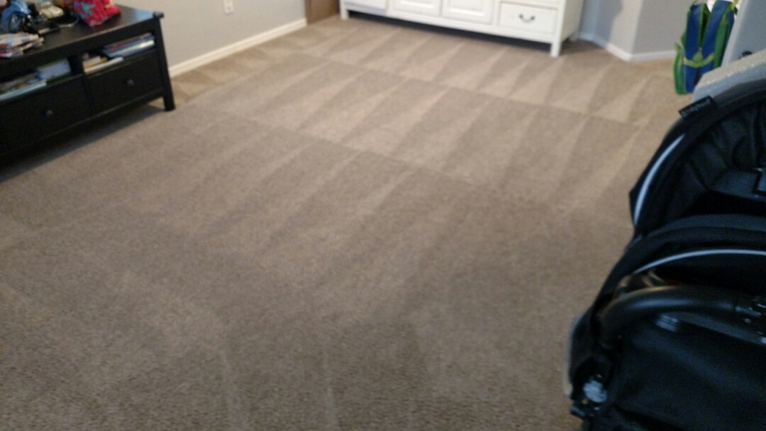 Gilbert, AZ - Cleaned carpet for a regular PANDA family in Gilbert, AZ 85295.