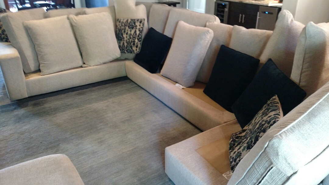 Gilbert, AZ - Cleaned upholstery for a regular PANDA family in Gilbert, AZ 85234.