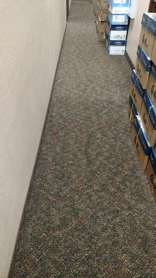Cleaned commercial carpet for a regular PANDA customer in Mesa, AZ 85206.