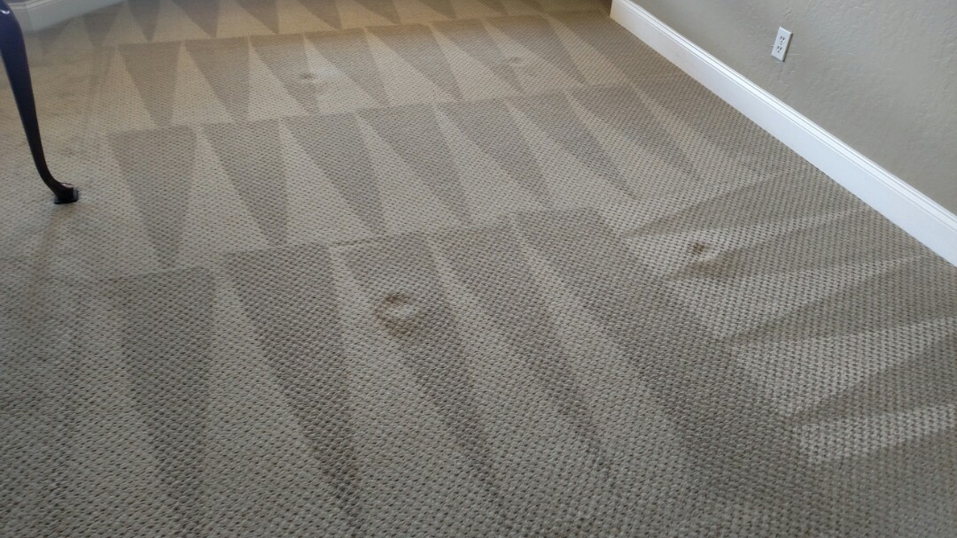 Gilbert, AZ - Cleaned carpet for a new PANDA family in Gilbert, AZ 85233.