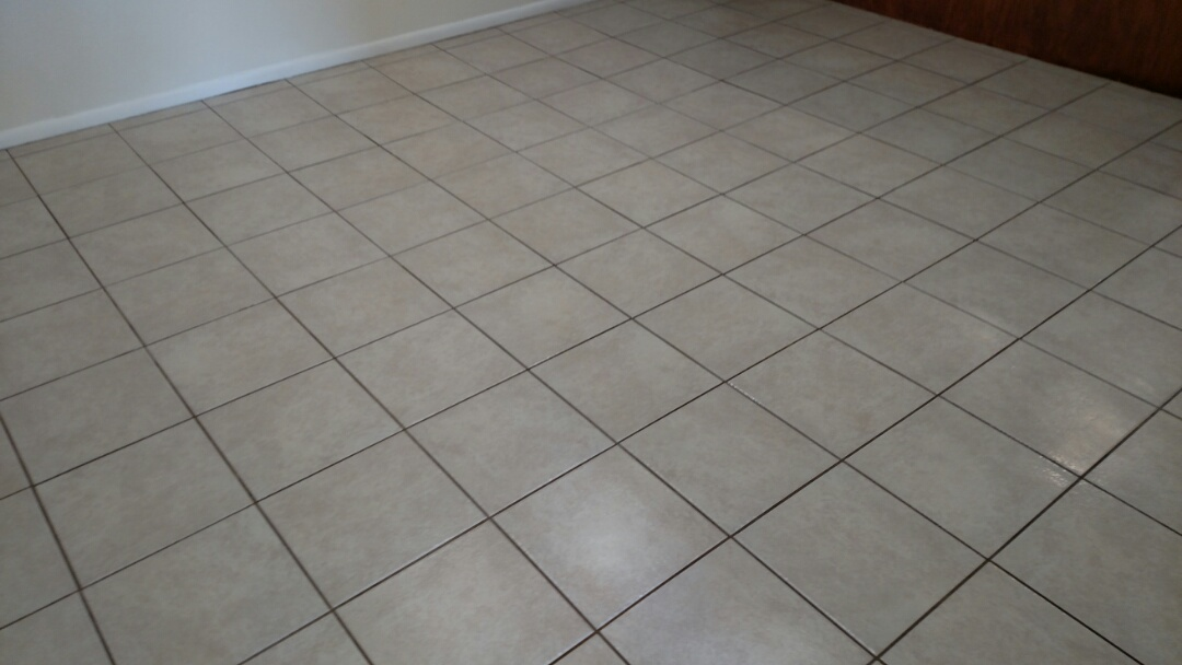 Mesa, AZ - Cleaned tile & grout for a new PANDA customer in Mesa, AZ 85202.