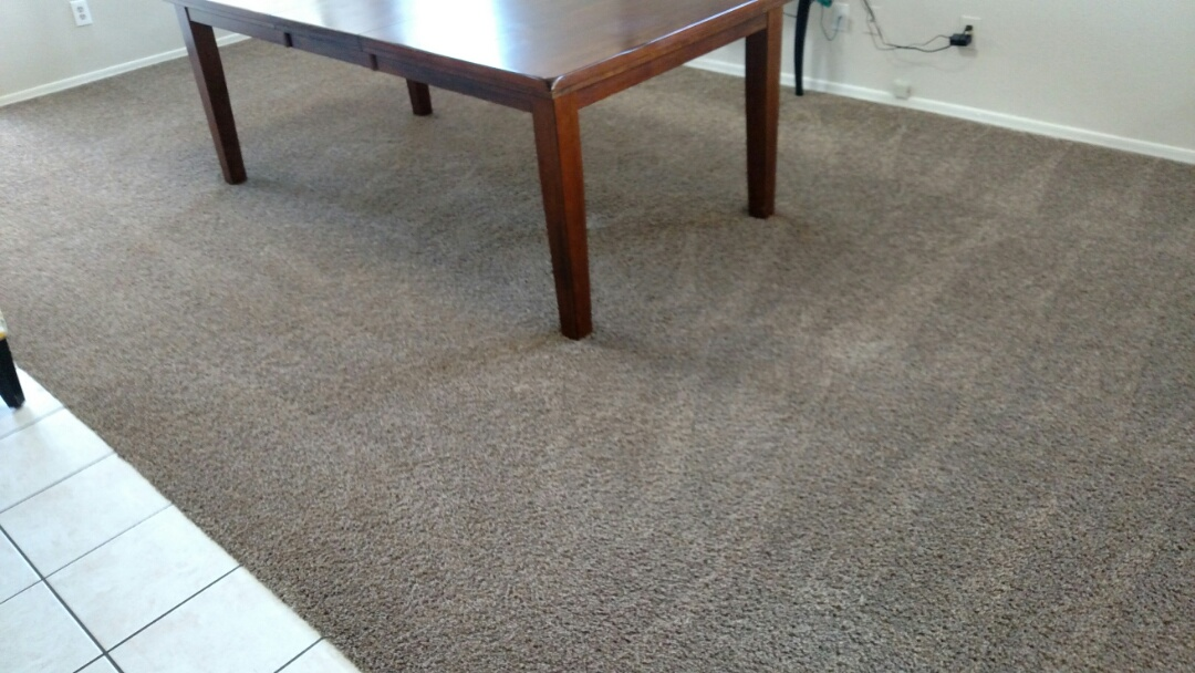 Gilbert, AZ - Cleaned carpet for a new PANDA family in Gilbert, AZ 85234.