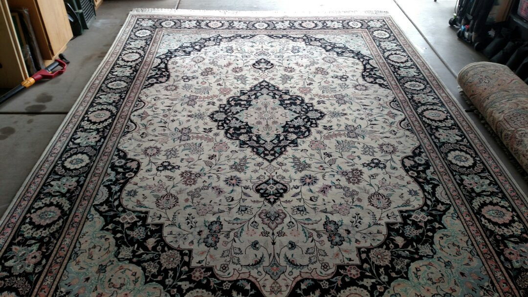 Cleaned two area rugs for a new PANDA family in Ashley Heights, Gilbert, AZ 85295.