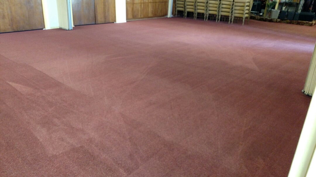 Cleaned commercial carpet & 80 sanctuary chairs for a regular PANDA customer in Chandler, AZ 85225.