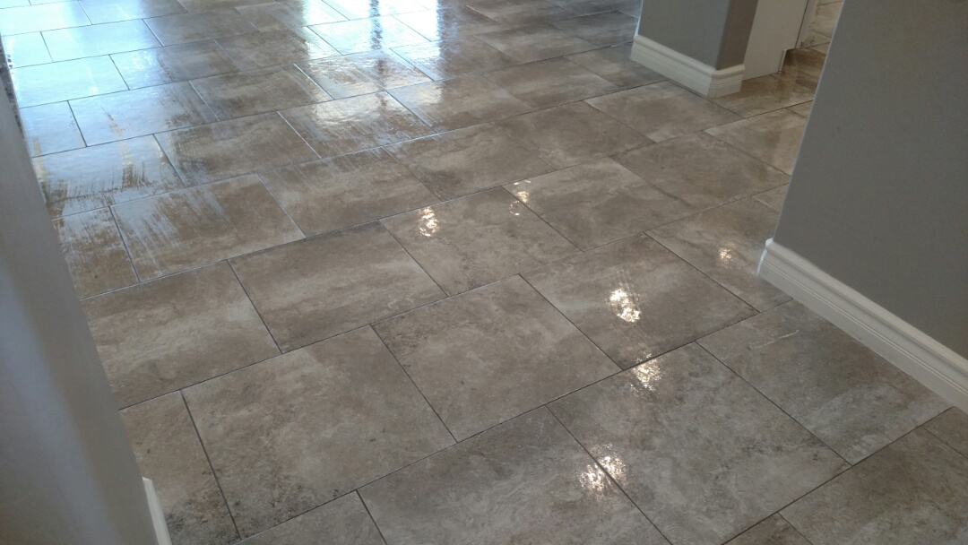 Cleaned & sealed tile & grout for a regular PANDA family in Chandler, AZ 85249.