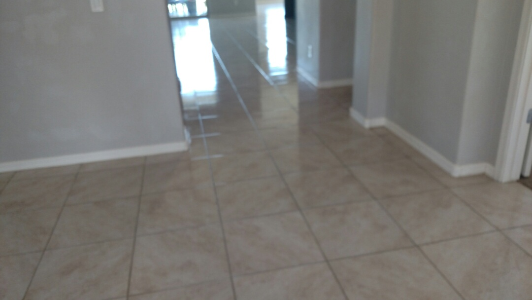 Cleaned carpet, tile and grout and sealed the grout for a new PANDA family in Queen Creek, AZ 85142.