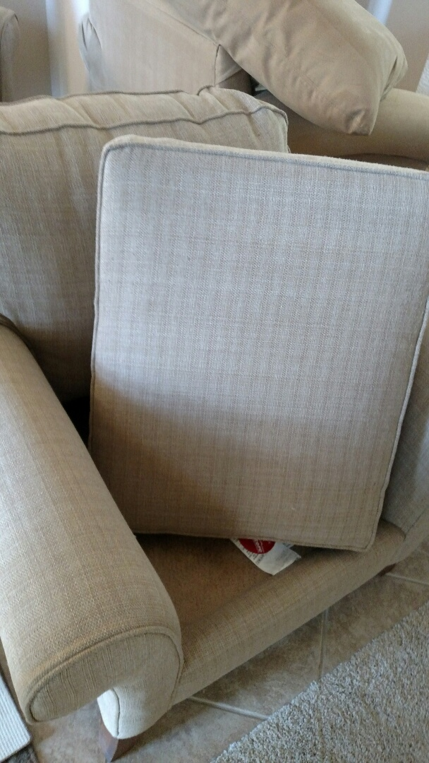 Gilbert, AZ - Cleaned upholstery & carpet for a regular PANDA family in Gilbert, AZ 85298.