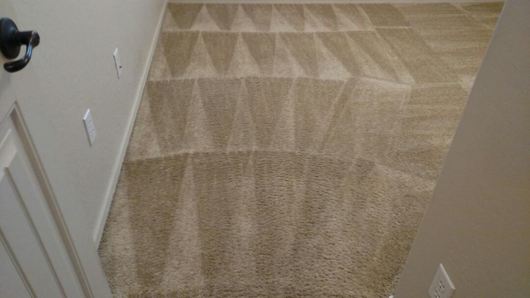 Cleaned soiled carpet & extracted fruit punch for a regular PANDA customer in Power Ranch, Gilbert, AZ 85297.