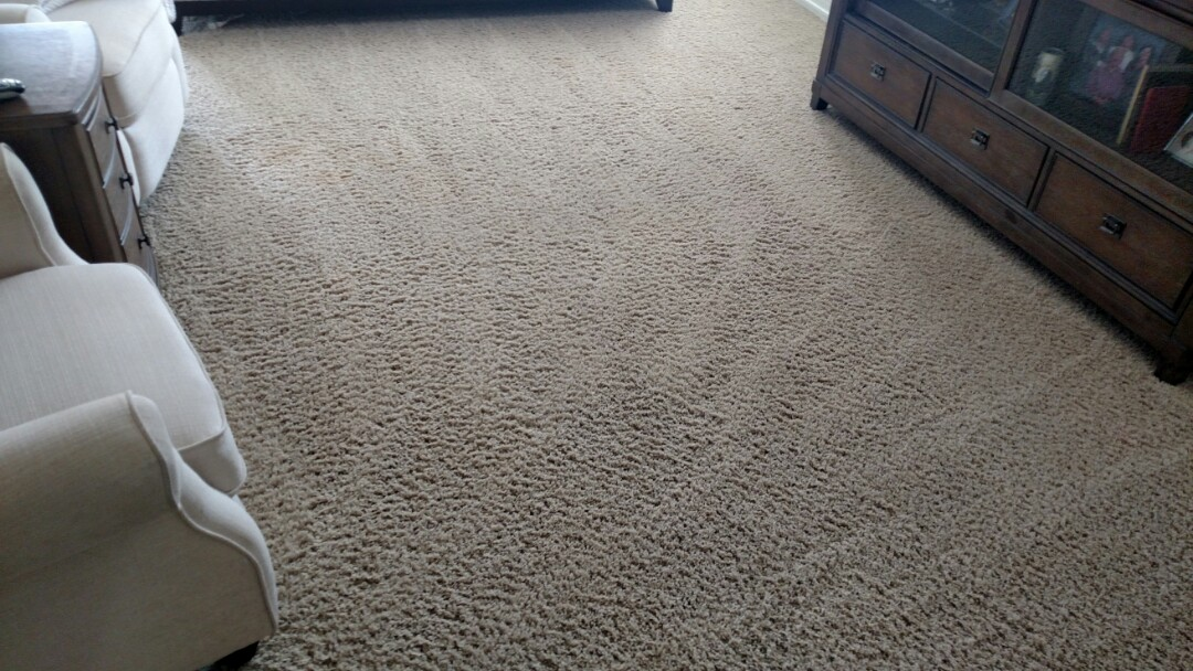 Gilbert, AZ - Cleaned carpet, tile & grout for a regular PANDA family in Ashley Heights, Gilbert, AZ 85295.