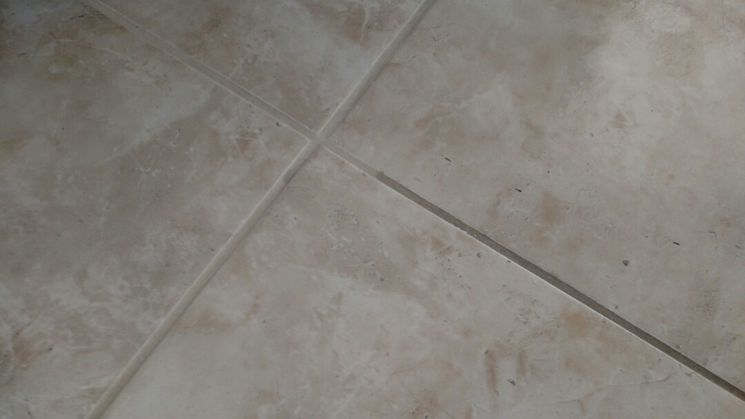 Cleaned tile & grout for a new PANDA customer in Gilbert, AZ 85298.