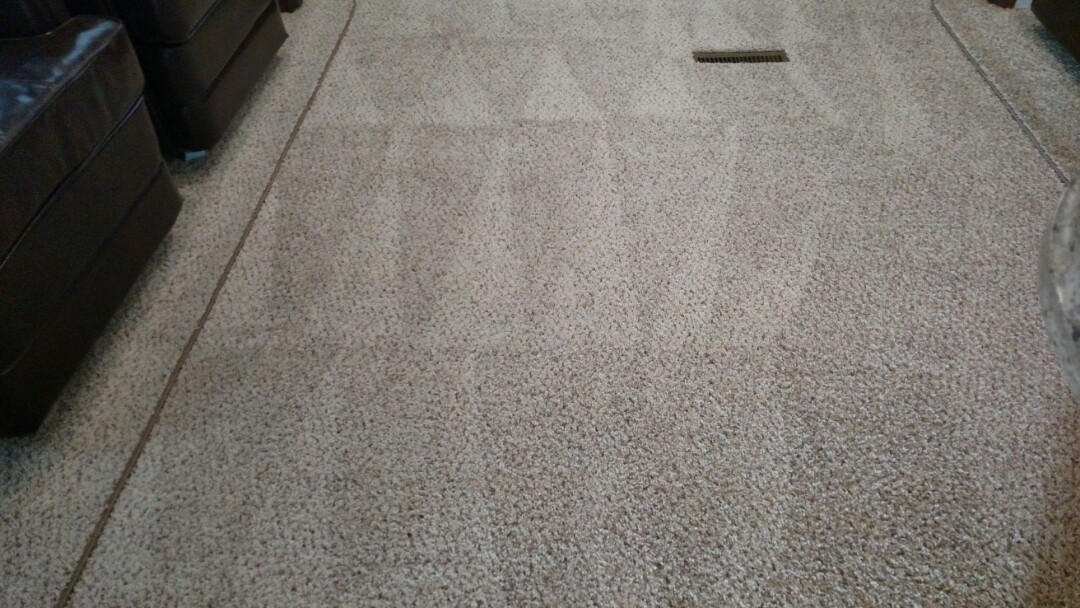 Gilbert, AZ - Cleaned carpet in an RV for a new PANDA family in Gilbert, AZ 85234.