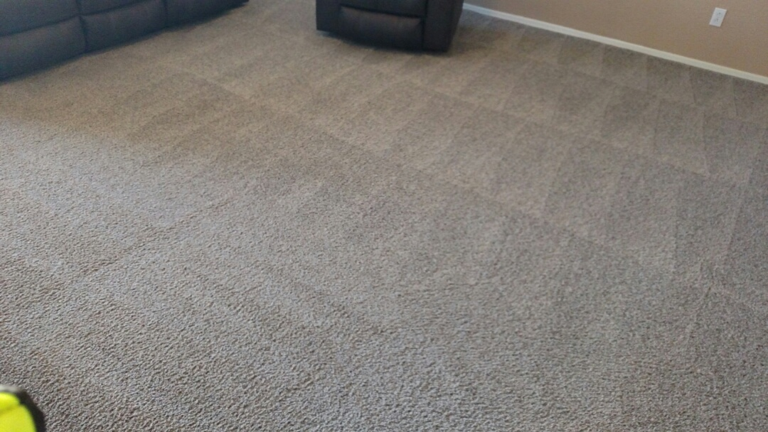 Cleaned carpet for a new PANDA family in Ashley Heights, Gilbert, AZ 85295.