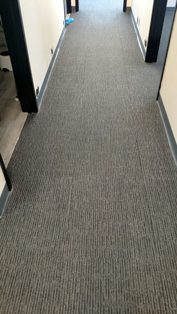 Mesa, AZ - Cleaned commercial carpet for a regular PANDA customer in Mesa, AZ 85206.