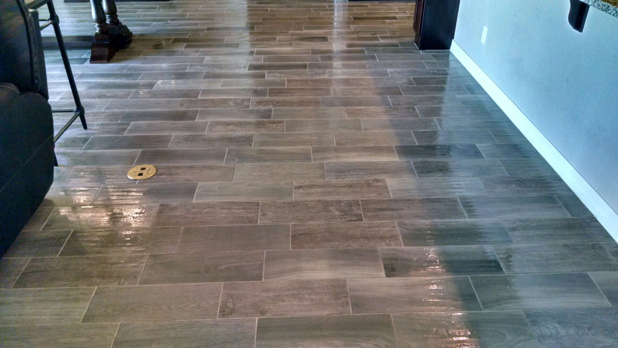 Mesa, AZ - Completed cleaning tile and grout for a new PANDA family, in Queen Creek, AZ 85142