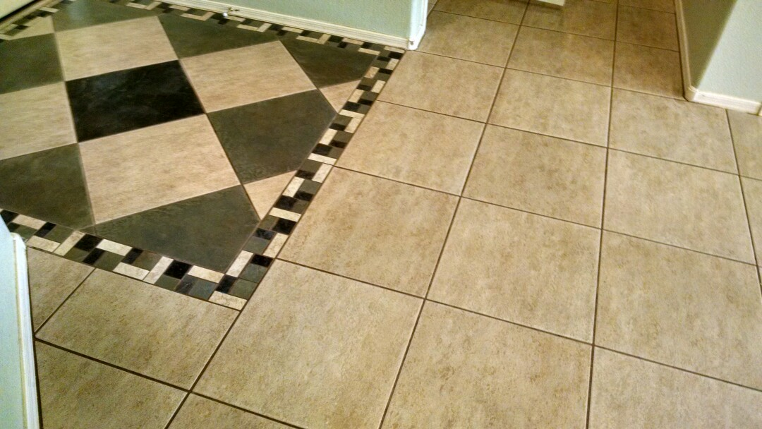 Chandler, AZ - Completed cleaning carpet and tile for a new PANDA customer in Chandler, AZ 85286.