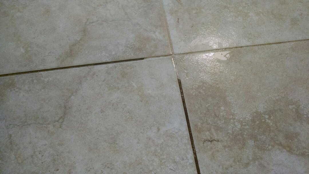Mesa, AZ - Completed cleaning tile and grout and upholstery for a new PANDA family in Mesa AZ 85213.