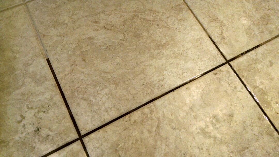 Mesa, AZ - Completed cleaning tile and grout for a new PANDA family in Mesa AZ 85209.
