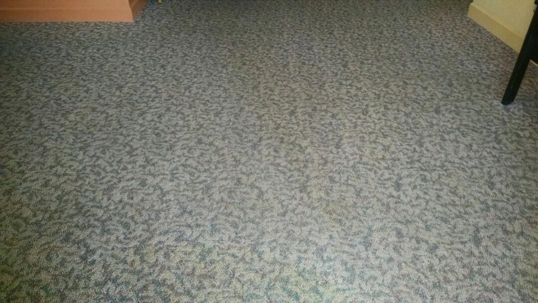 Chandler, AZ - Completed cleaning carpet for a regular PANDA Church customer in Chandler AZ 85225.