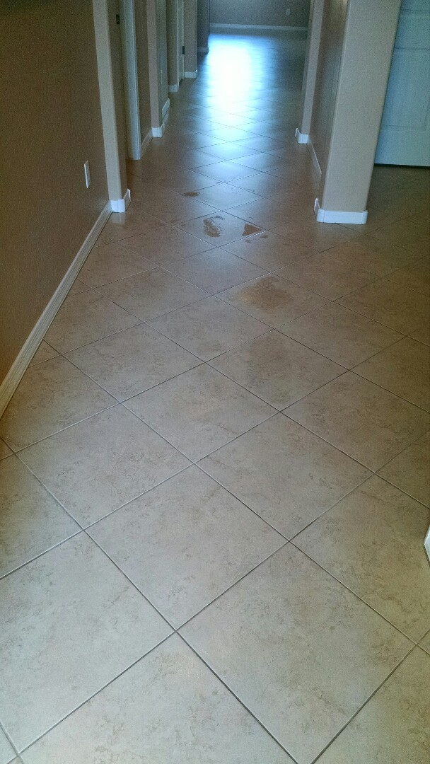 Completed cleaning carpet and tile & grout for a new PANDA family in Maricopa AZ 85138.