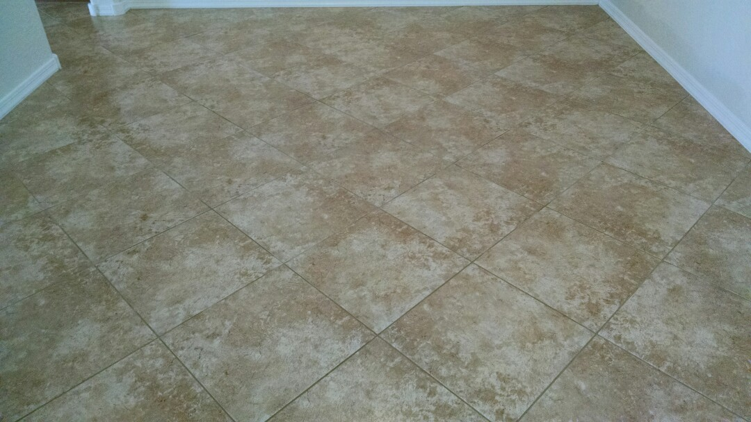 Mesa, AZ - Completed cleaning tile and grout for a new PANDA family in Mesa AZ 85212.