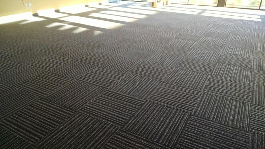 Gilbert, AZ - Cleaned commercial carpet for a regular PANDA customer in The Spectrum, Gilbert AZ 85295.