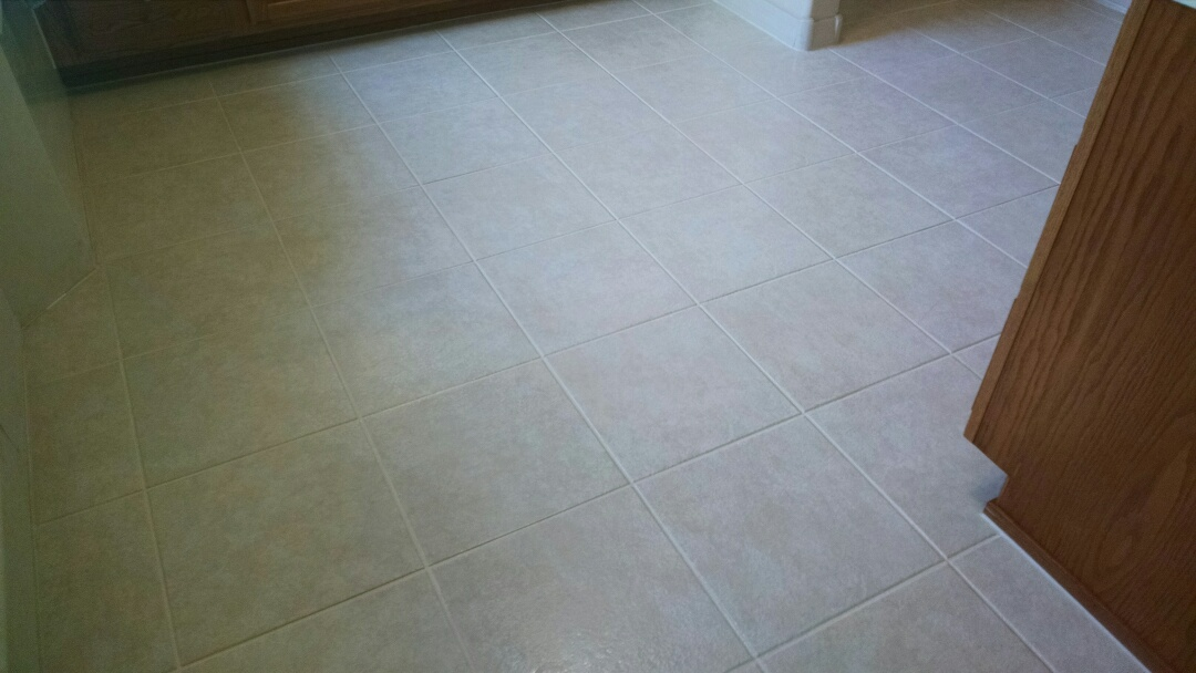 Cleaned tile and grout for a new PANDA family in Casa Grande AZ 85122.