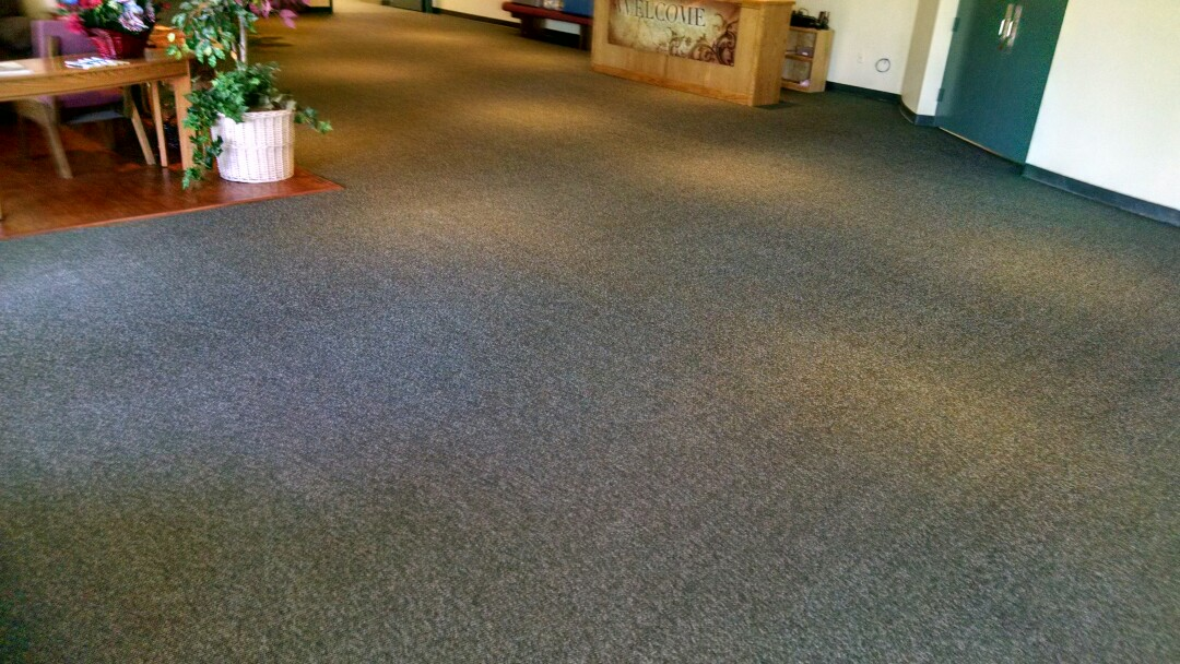Cleaned commercial carpet for a regular PANDA business customer in Gilbert AZ 85234.