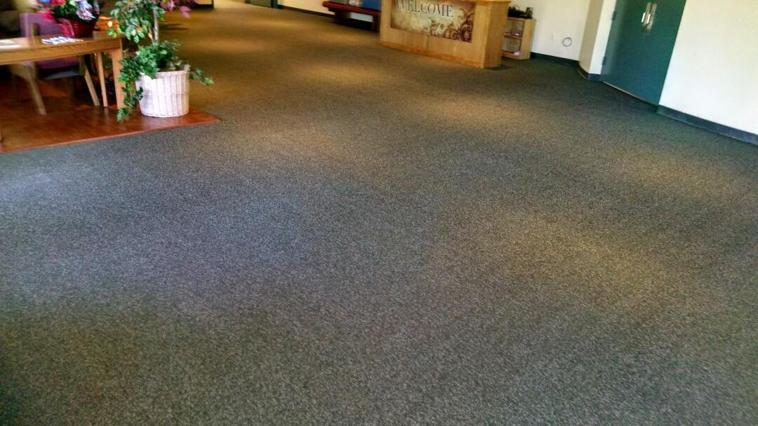 Gilbert, AZ - Cleaned commercial carpet for a regular PANDA business customer in Gilbert AZ 85234.