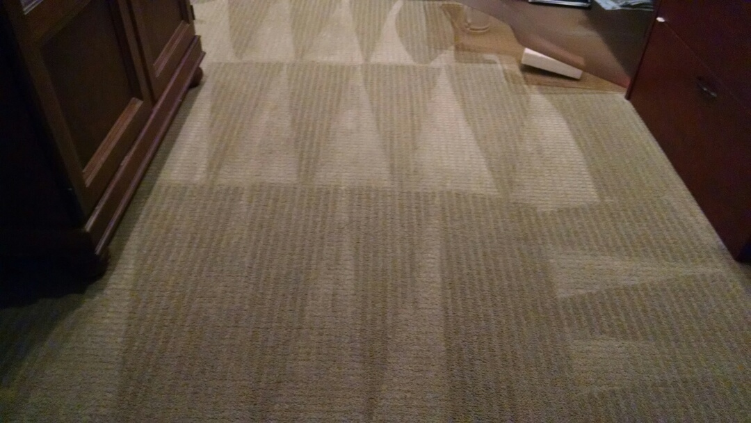 Chandler, AZ - Cleaned carpet for a new PANDA family in Chandler AZ 85249.