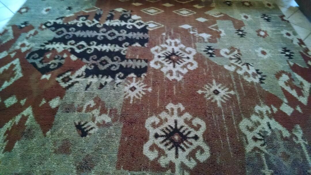 Gilbert, AZ - Cleaned carpet and an area rug for a new PANDA family in Gilbert AZ 85296.
