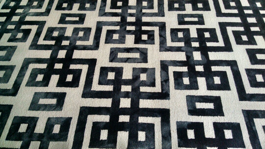 Gilbert, AZ - Picked up, cleaned & delivered 2 large wool area rugs for a regular PANDA family in Gilbert AZ 85234.