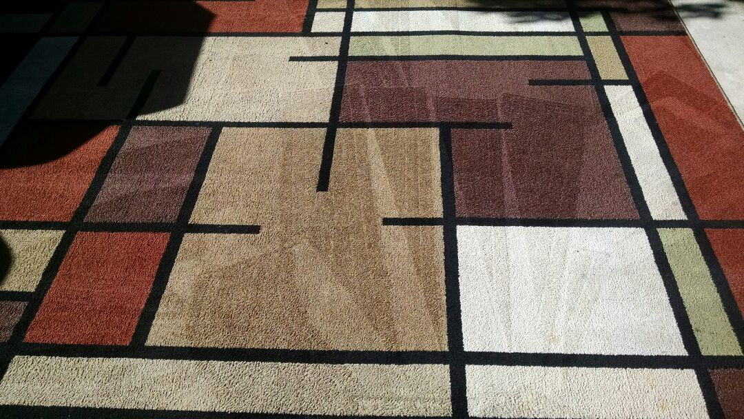 Mesa, AZ - Cleaned carpet, area rugs and tile & grout for a regular PANDA customer in Mesa AZ 85208.