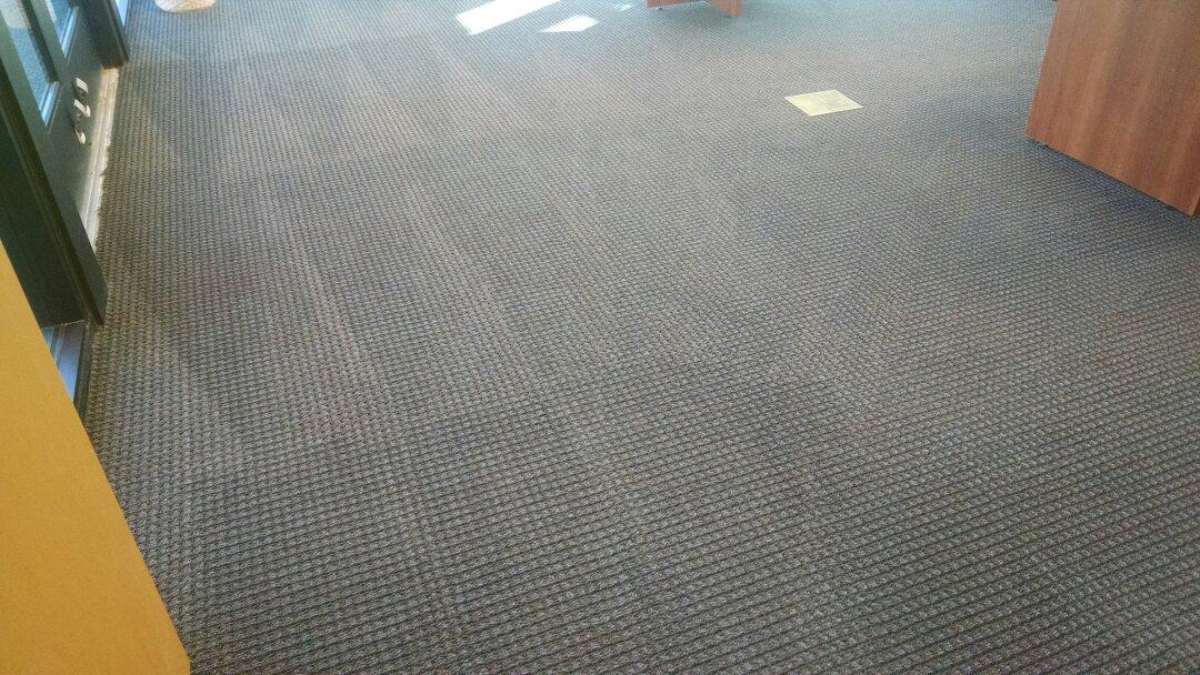 Gilbert, AZ - Cleaned commercial office carpet at The Spectrum, for a regular PANDA customer in Gilbert AZ 85295.