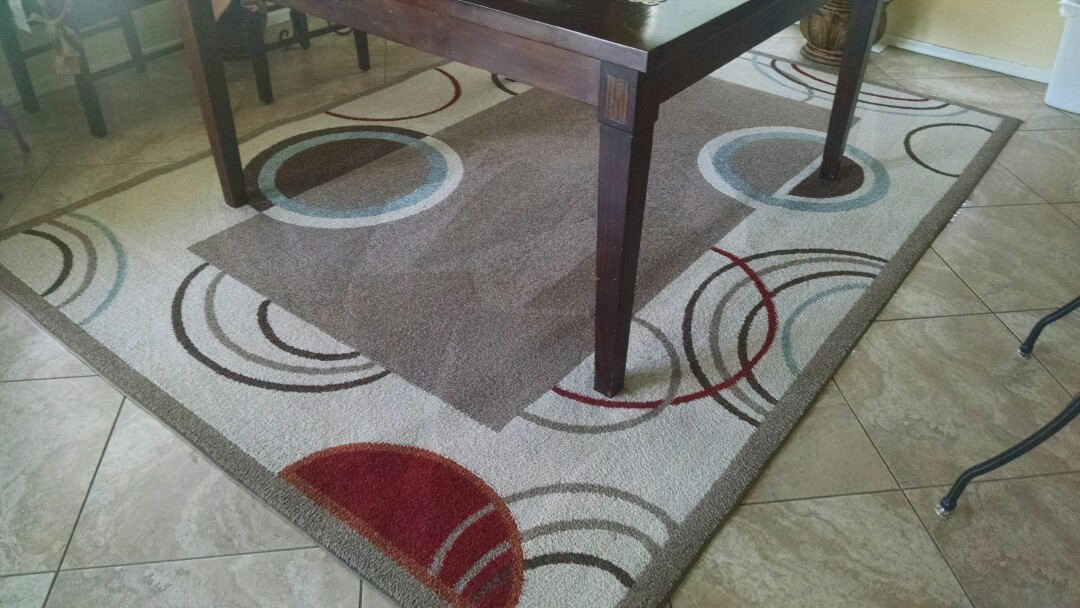 Cleaned carpet and area rugs for a new PANDA family in Chandler AZ 85286.