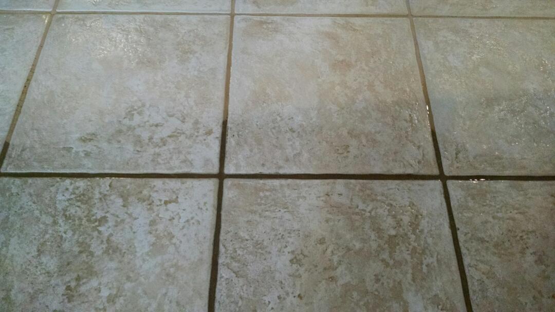 Gilbert, AZ - Cleaned tile and grout for a regular PANDA family in Gilbert AZ 85296.
