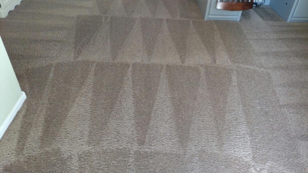 Gilbert, AZ - Cleaned carpet for a regular PANDA family in Gilbert AZ 85297.