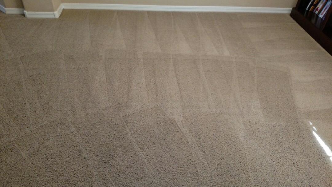 Gilbert, AZ - Cleaned carpet for a new PANDA family in Gilbert AZ 85297.