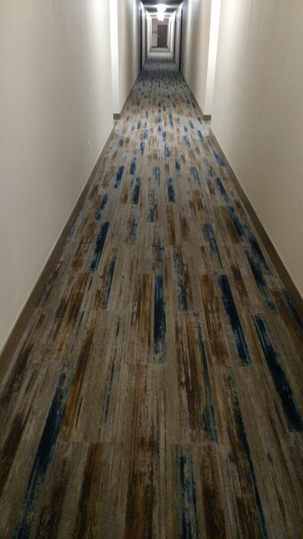 Chandler, AZ - Cleaned 4 story's of commercial carpet for The Cays, in Chandler AZ 85286.