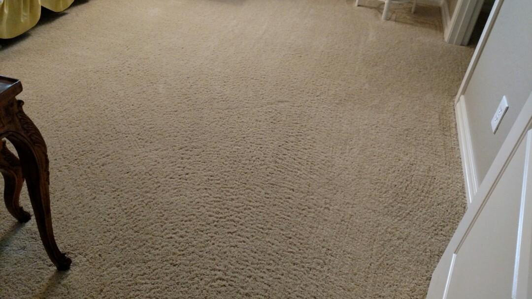 Cleaned carpet for a regular PANDA customer in Gilbert AZ 85298.