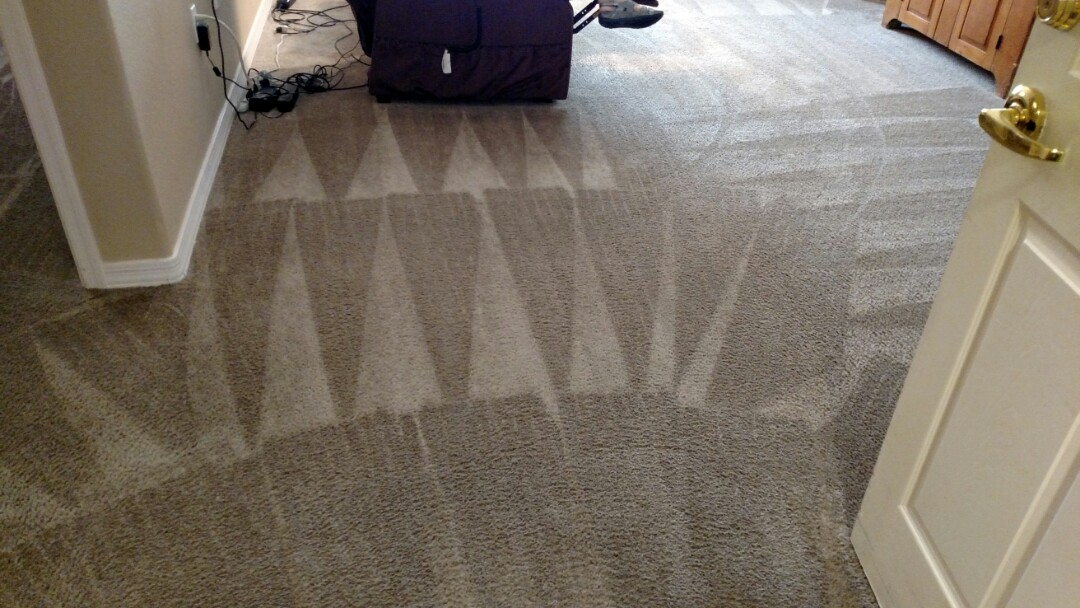 Cleaned carpet for a regular PANDA customer in Fountain Hills AZ 85268.