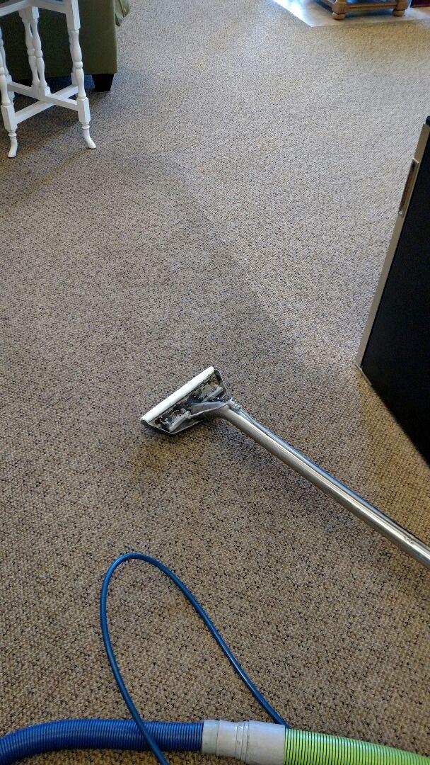 Mesa, AZ - Cleaned commercial carpet for a new PANDA customer in Mesa AZ 85212.