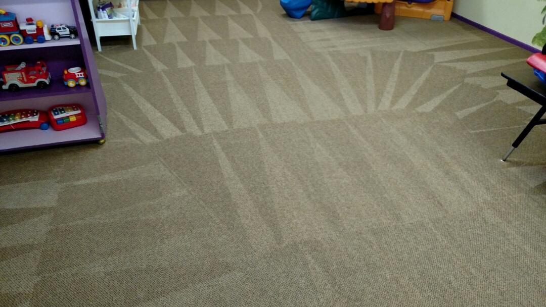 Cleaned commercial carpet for a regular PANDA customer in Chandler AZ 85225.