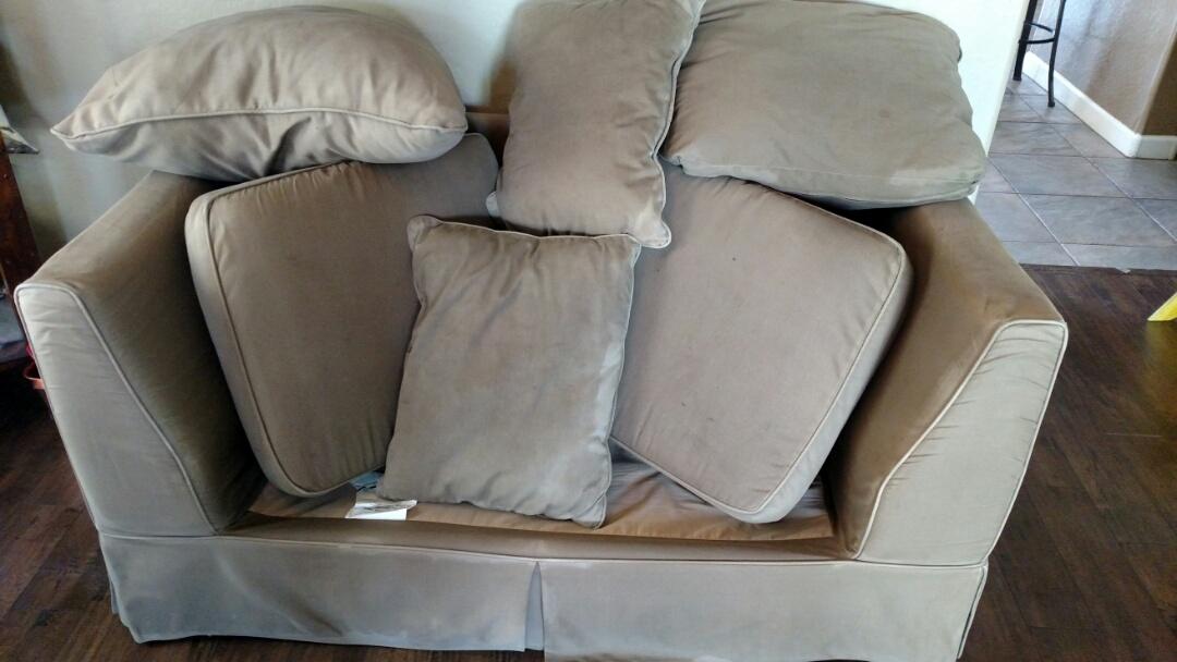 Gilbert, AZ - Cleaned carpet and upholstery for a new PANDA family in Seville, Gilbert, AZ 85298.
