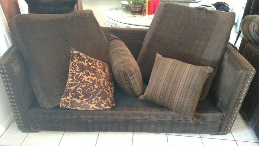 Gilbert, AZ - Cleaned carpet and upholstery for a regular PANDA family in Gilbert AZ 85233