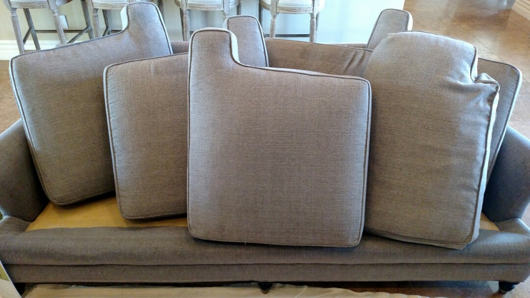 Gilbert, AZ - Cleaned a lot of upholstery for a new PANDA family in Whitewing Higley, Gilbert, AZ 85297.