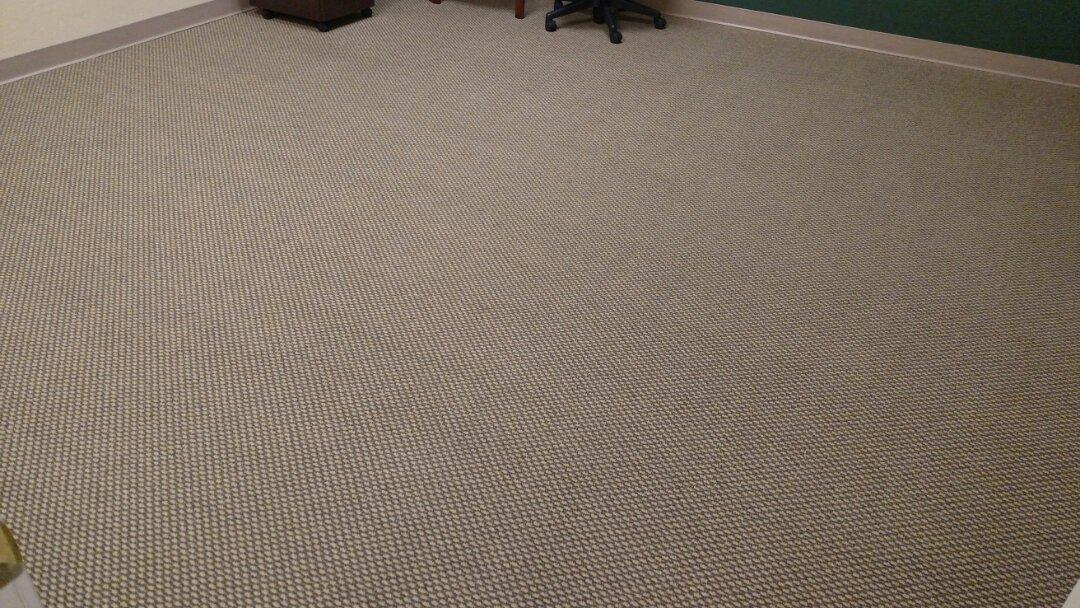 Gilbert, AZ - Clean commercial carpet and upholstery for an Edward Jones office in Gilbert AZ 85295.