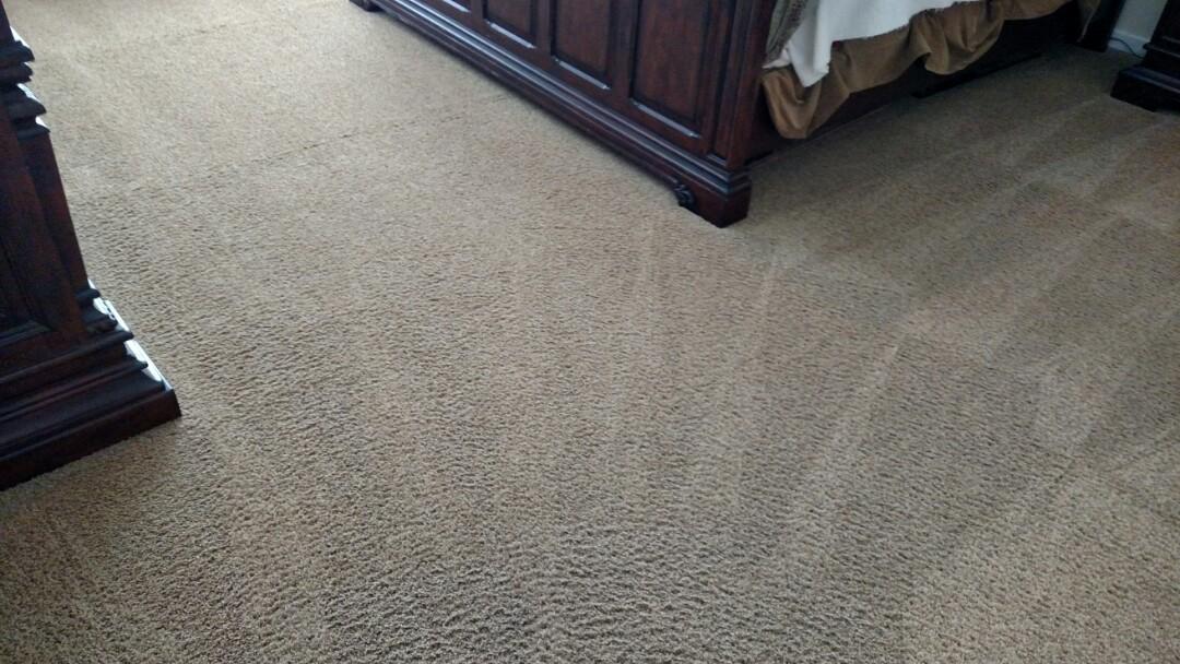 Gilbert, AZ - Cleaned carpet and area rugs for a new PANDA family in Gilbert AZ 85298.