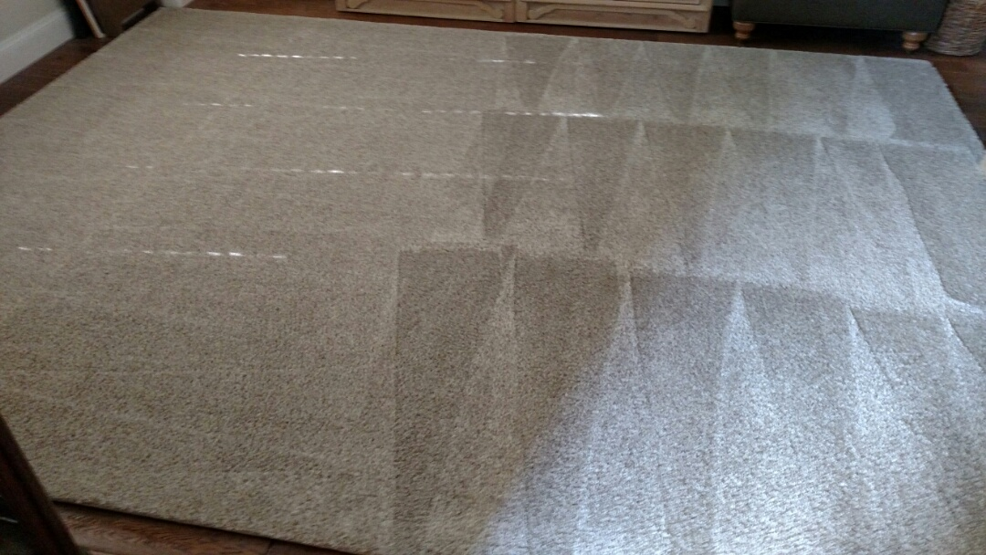Mesa, AZ - Cleaned tile and grout, upholstery, and area rugs for a regular PANDA family in Mesa, AZ 85213.