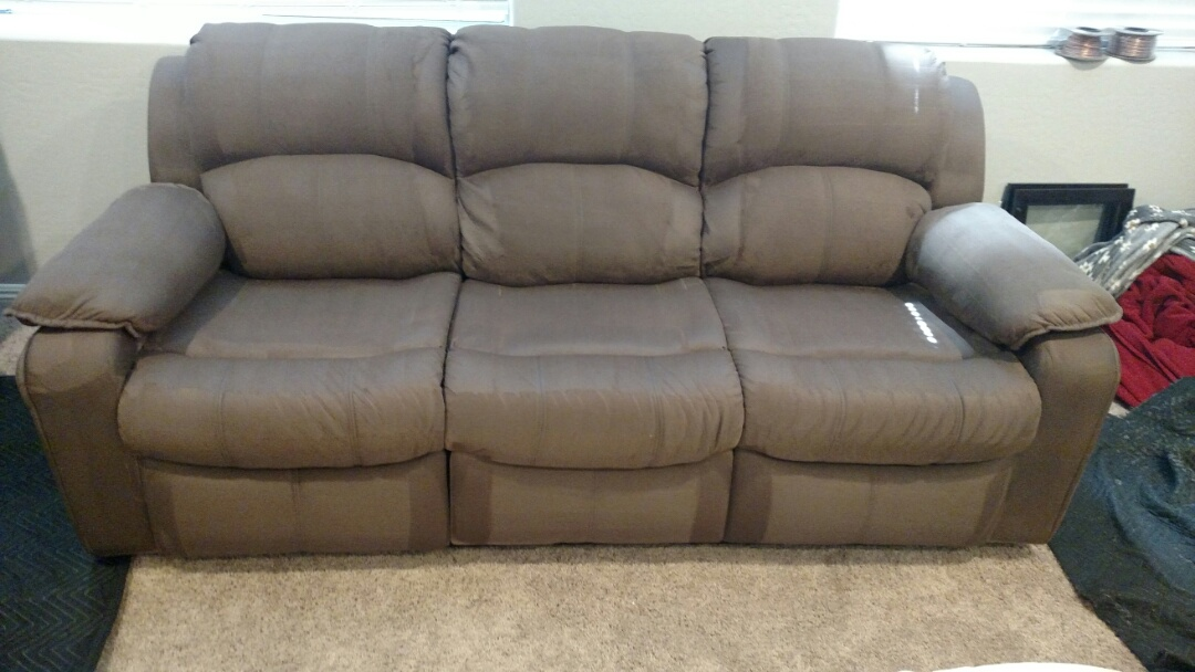 Cleaned a lot of upholstery for a regular PANDA family in Chandler, AZ 85249.